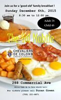 Chevaliers de Colomb; conseil Theriault #6808 is hosting a break