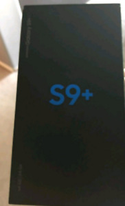 S9 plus Unlocked and BRAND NEW