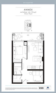 AYC CONDOS- 1 BED + DEN ANNEX MODEL AVAILABLE