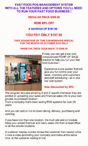 STILL RUNNING YOUR FAST FOOD BUSINESS ON A CASH REGISTER ?