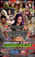 RCW FIGHT 4 RESPECT: Live Pro Wrestling
