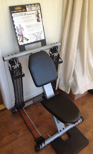 Force Flex Total work-out chair gym with 50 exercises