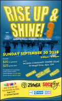 Rise Up and Shine 3 - A dance fitness FUNdraiser