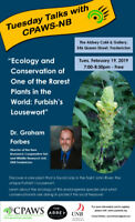 Tuesday Talks: Ecology and Conservation of Furbish's Lousewort