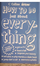 Book ... How to do just about everything