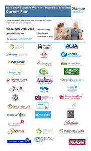 PSWs and Practical Nurses Event: Get Hired