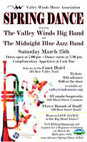 Spring Dance with Valley Winds Big Band