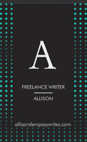 Freelance writer, proofreading, articles, letters