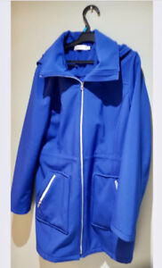 Blue fall and spring Jacket