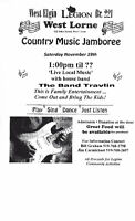 COUNTRY MUSIC JAMBOREE(All Public Welcome)