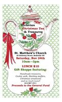 """NEW"" VICTORIAN CHRISTMAS TEA & TREASURES"