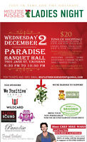ladies holiday shopping event booking incredible vendors