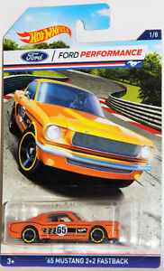Hot Wheels 1/64 Ford Performance Mustang Diecast Car