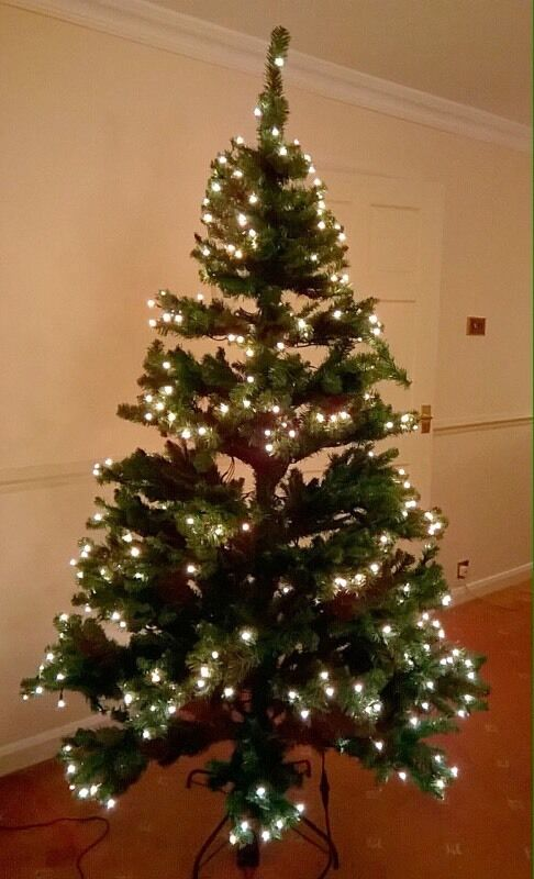7ft Christmas Tree - Built in Lights - RRP 160! - 7ft Christmas Tree - Built In Lights - RRP 160! In Halifax, West
