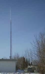 Free Stand Tower and Antenna