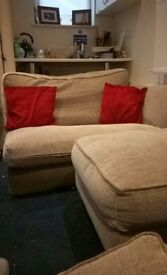 Sofa most go before Saturday 14th April