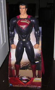 31 INCH GIANT SIZE SUPERMAN NEW IN THE BOX