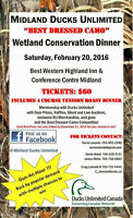 3rd Annual Midland Ducks Unlimited Wetland Conservation Dinner