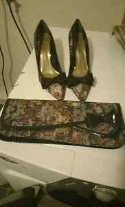 Shoes and purse