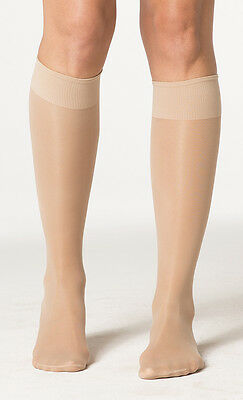 Sigvaris 120c Sheer Fashion 15-20 Closed Toe Knee High