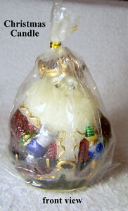 Christmas candle, one of the 3 kings, new, cello wrapped