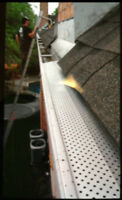 Get Leafguard today for 100% Maintenance Free Eavestroughs!!