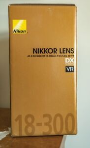 Nikon Nikkor 18-300mm DX Lens