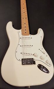 Fender Standard Strat - Maple in Arctic White Windsor Region Ontario image 1