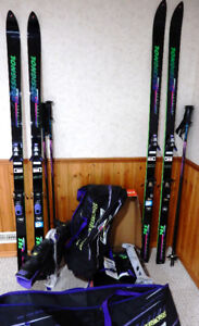 Rossignol Downhill Ski Sets - HIS & HERS