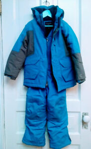 Lands End Bright Blue and Grey Kids Snowsuit size 5 -  Downtown