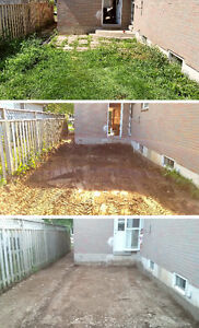 Driveway removal, excavating, grading, and demolition in K-W Kitchener / Waterloo Kitchener Area image 8