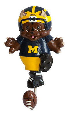 Michigan Wolverines Mascot Wall Hook Football NCAA Licensed college sports