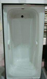 White RH Bathtub + Jacuzzi Tub - Brand New