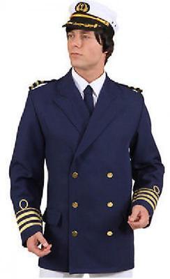 Kapitän Jacke Matrosen Kostüm Jacket Marine Uniform Seemann Offizier - Marine Offizier Uniform Kostüm