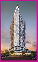 One Bedroom+Den Assignment Academy Condos-3 Yrs Guaranteed Rent