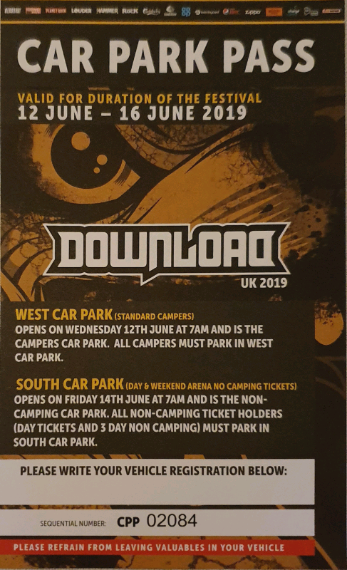 download festival 2019 tickets