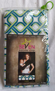 SEVEN EVERYDAY SLING BABY CARRIER DAZE PATTERN SIZE MEDIUM