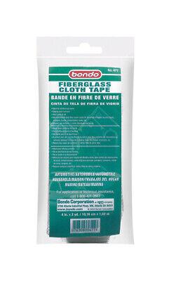 Bondo Fiberglass Cloth Tape 4 In . X 72 In.