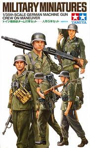 TAMIYA (35184) 1/35 German Machine Gun Crew