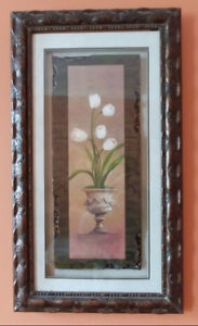 Pictures, choose from 2 lovely floral with heavy frame only $20