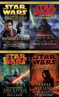 Star Wars THE OLD REPUBLIC Series PAPERBACK Collection Set of Books 1-3
