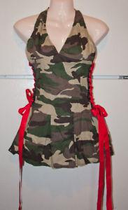 NEW Sexy Army 2 piece costume- SM