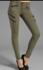 RAG AND BONE LARIAT PANT ARMY GREEN - SIZE 27