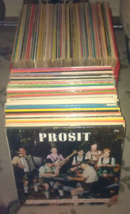 147 Polish and German LP Record albums