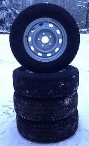 Blizzak DM-V1 Winter tires on Winter Rims