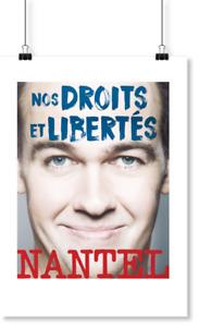 4 billets pour Guy Nantel le 21 Juin a Laval rangée(E)