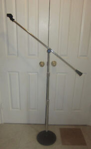Vintage Atlas Soundolier Microphone Stand With Boom Arm