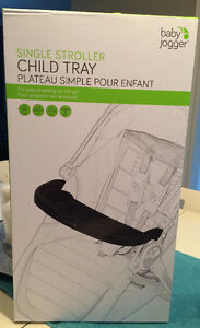 Brand New Baby Jogger Single Stroller Child Tray