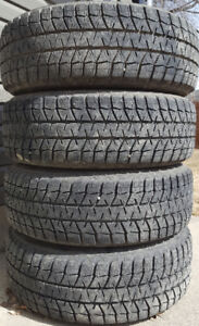Bridgestone Blizzak WS80 235/65R17 Tires on Wheels