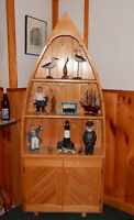 Boat Shaped Cabinet